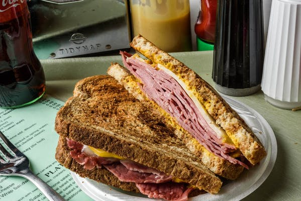 Corned Beef & Swiss Sandwich