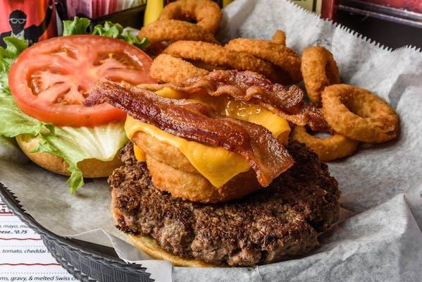 Longhorn Burger