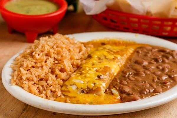Kid's Cheese Enchilada