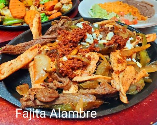 Fajita Alambre Platter