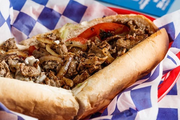 Philly House Steak & Cheese  Sub (Hot)