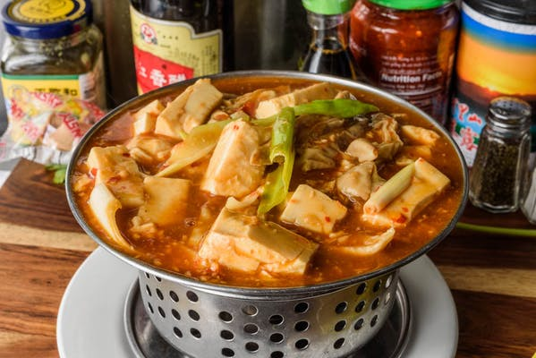 P1. Spicy Intestines in Hot Pot