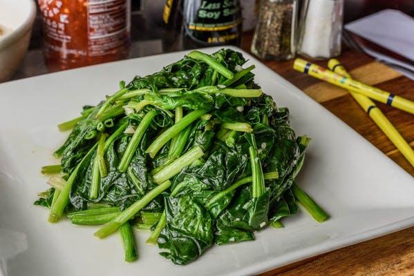V7. Sautéed & Spinach with Garlic