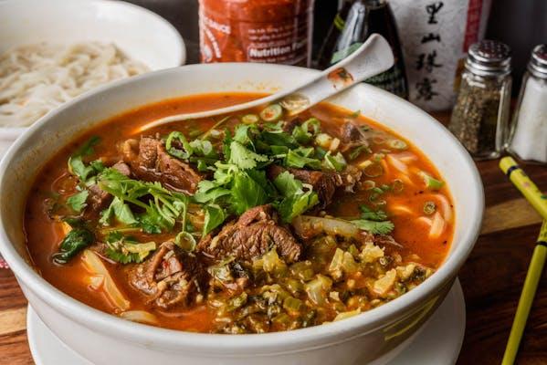 N1. Szechuan Beef Stew Noodle Soup