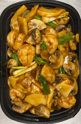 63. Shrimp with Mushrooms