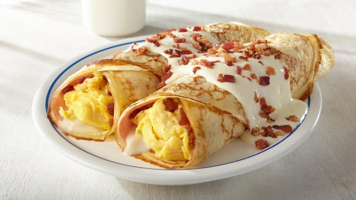 Classic Breakfast Crepes