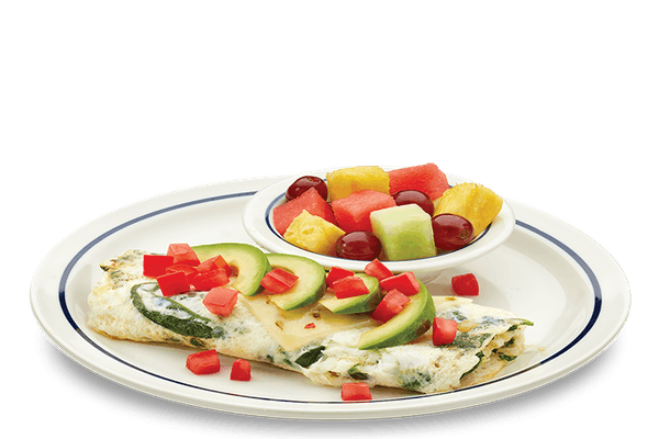 Egg White Vegetable Omelette