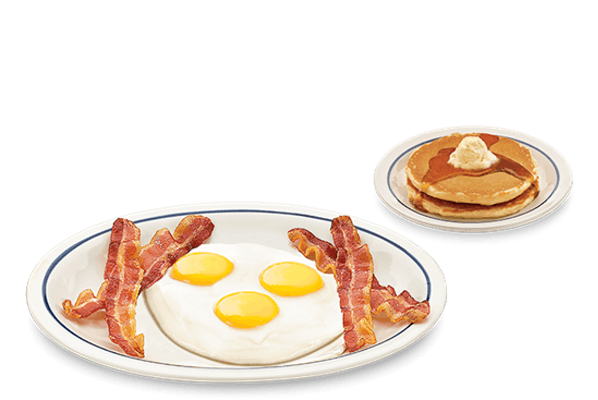 Big Three-Egg Breakfast