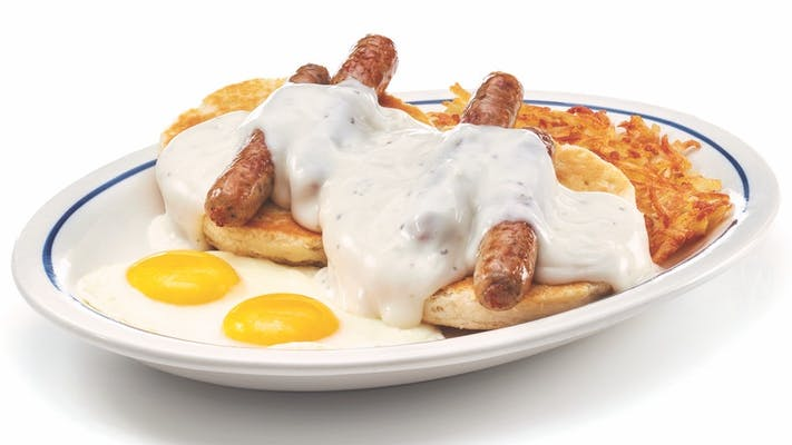 Buttermilk Biscuits & Gravy