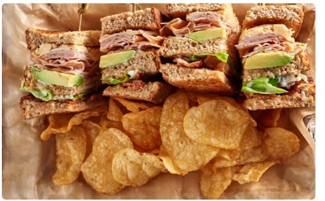 Cougar Club Sandwich & Chips