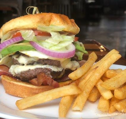 Smash Cheeseburger & Fries