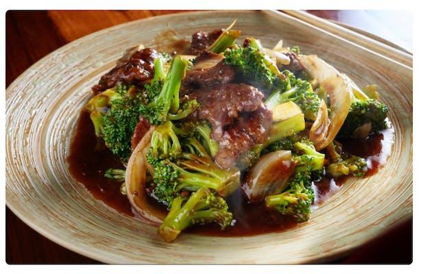 #3. Sautéed Beef with Broccoli