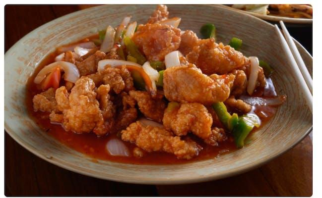 #5. Sweet & Sour Chicken