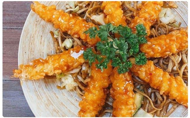#8. Sweet & Sour Shrimp Tempura