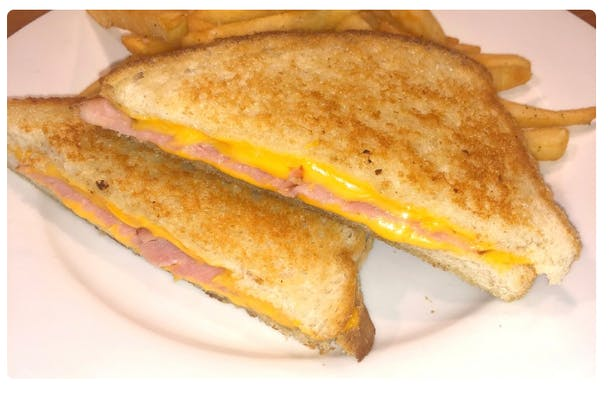 Kid's Grilled Ham & Cheese with Fries