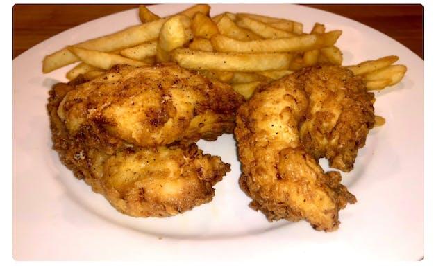 Kid's Chicken Fingers & Fries