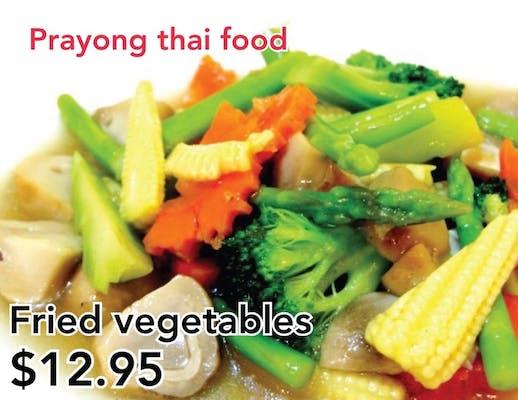 #29. Stir-Fried Vegetables