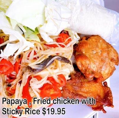 #37. Papaya Fried Chicken