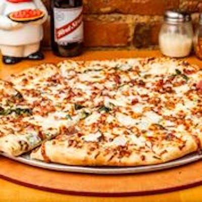 The S.O.B White Pizza