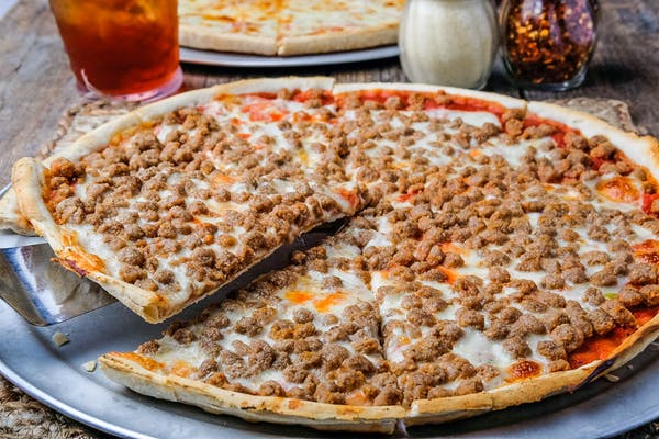 Single Topping Thin Crust Pizza