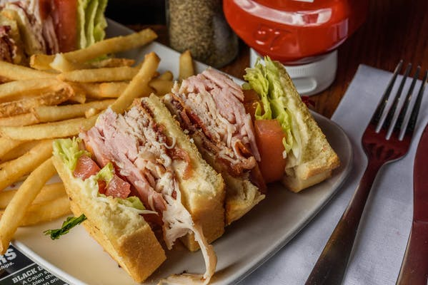 Old Time Club Sandwich