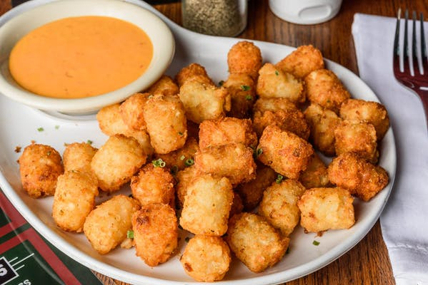 Dipping Tater Tots