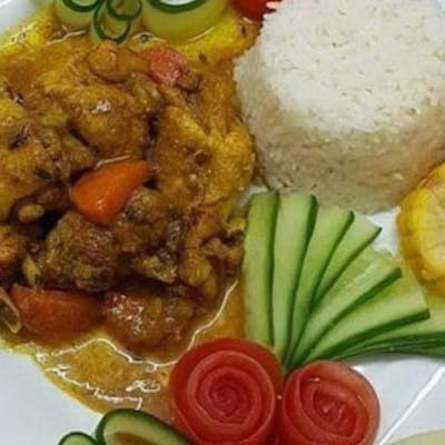 Curried Chicken Meal