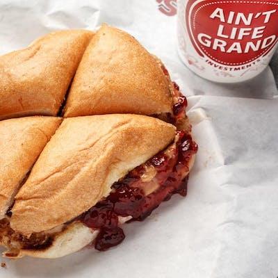 Kid's PB&J Sandwich