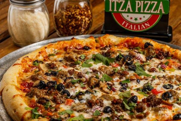 Whole BYO Pizza