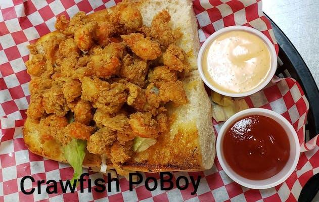 Crawfish Po-Boy