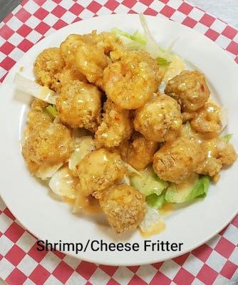 Mini Shrimp & Cheese Fritters
