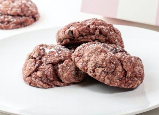 Red Velvet Gooey Butter Cookie