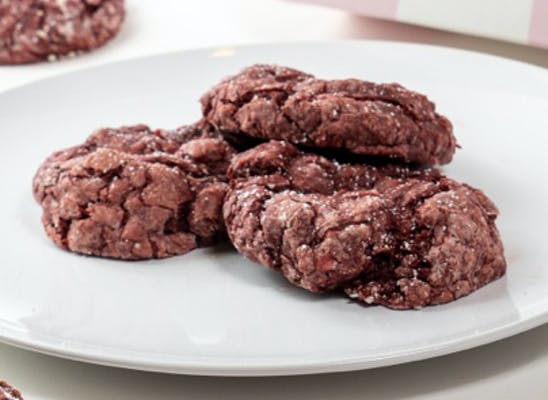 Red Velvet Chocolate Chip Gooey Butter Cookie