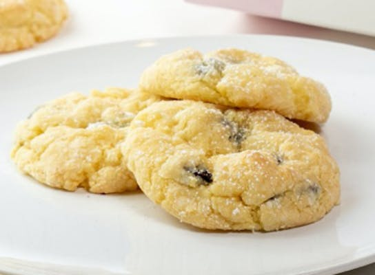 Butter Chocolate Chip Gooey Butter Cookie