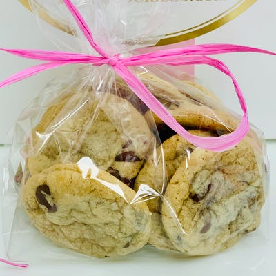 Mini Chocolate Chip Cookies - Bag of 12
