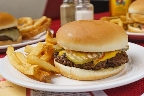 #1. The Original Burger
