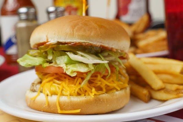 #5. Chicken Works Burger