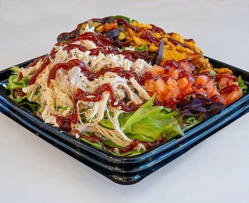 BBQ Turkey Salad