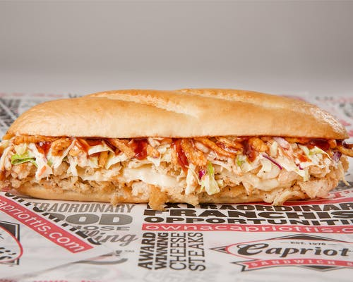BBQ Chicken Cheesesteak