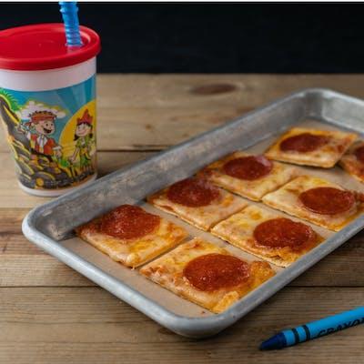 Kids Pepperoni Flatbread