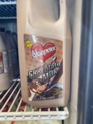 Chocolate milk - half gallon