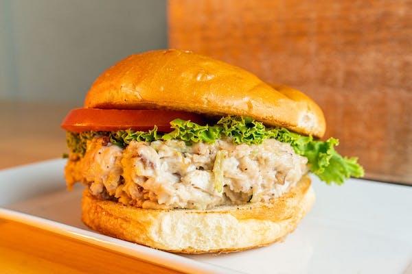 Chicken Salad Sandwich & Fries
