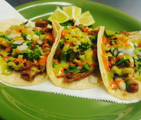 3 Street Tacos with Tripe