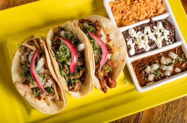 (3) Regular Tacos