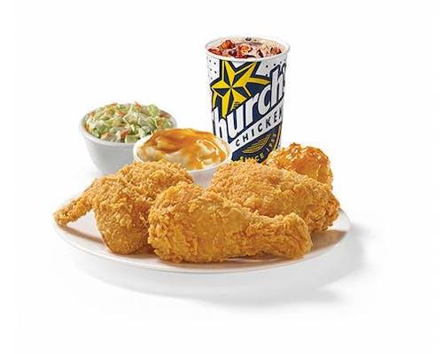 Three Piece Mixed Chicken Combo