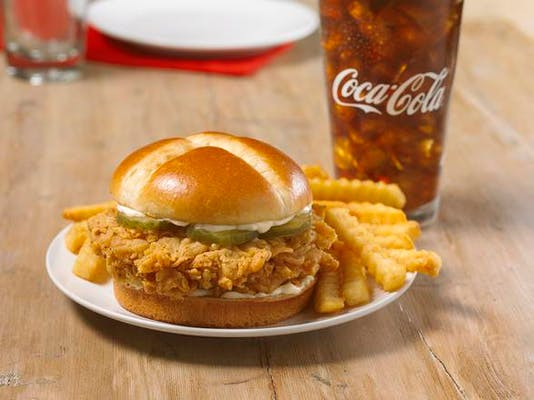Spicy Chicken Sandwich Combo