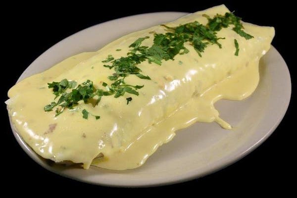 Cheesy King Burrito