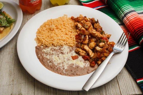 9. Pollo a la Mexicana