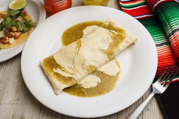 14. Jaime Special Chicken Burrito