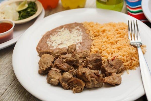 1. Bistec a la Mexicana